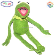 C078 Felt Kermit the Frog Doll Products Plush Toy Soft Muppet Green Kermit the Frog Plush Toy