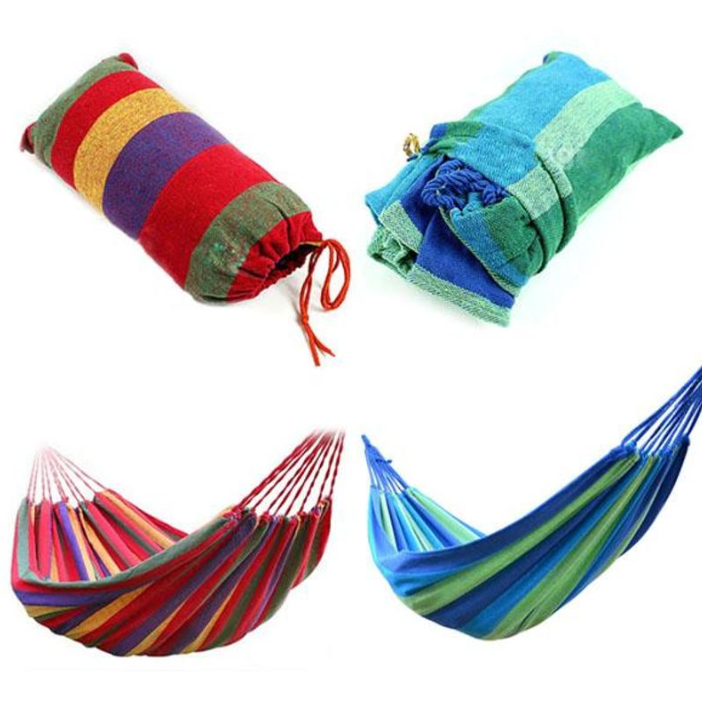 2019 Amazon hot selling portable hammock durable Canvas Single Hammock