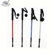 High Quality Adjustable Trekking Pole climbing stick walking stick cane