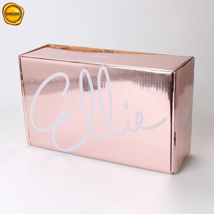 Sinicline high quality big size custom printed corrugated shipping box