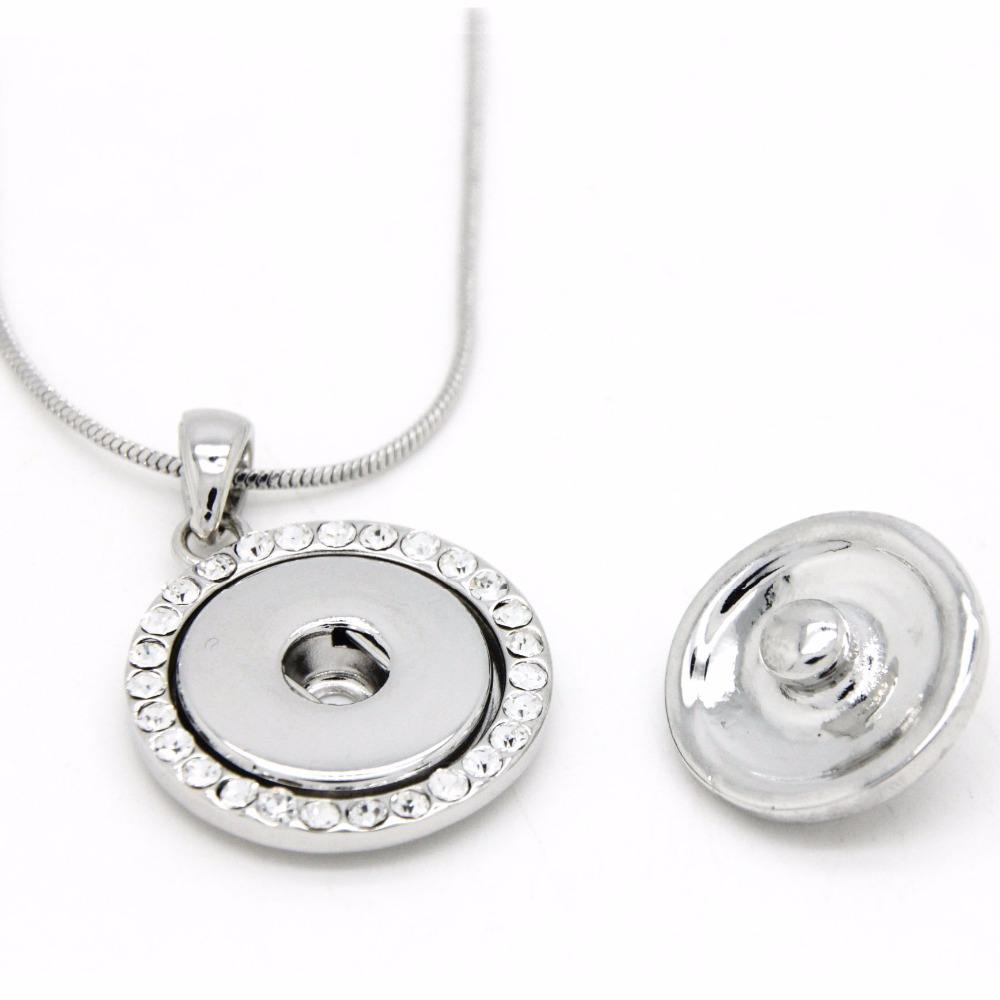 Snap Button Jewelry online sell Snap Button necklace and bracelet