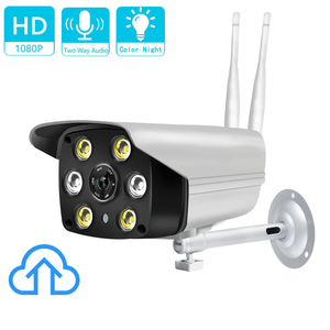 LOOSAFE 2MP Cloud storage wifi camera V380 Security camera wifi outdoor two way audio cctv wireless camera 1080p night colorful