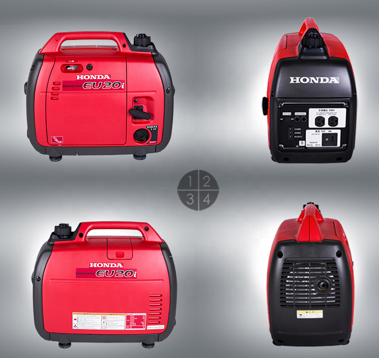 Hot sale small power 2KW EU20I same style gasoline inverter generator 50HZ 220V single phase for home use hotel use