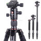 KINGJOY 3-in-1 Digital Alpenstock Use Photographic Camera Tripod kit K1208 Integrated with detachable Monopod