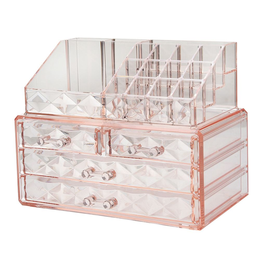 Different Kind Of The Organizer Storage Make Up Brushes Cosmetics Holder Acrylic Makeup Organizer