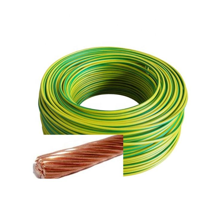 Stranded Copper Cable And Wire Building Earth Wire Power Cables Fine Bare Copper Conductors