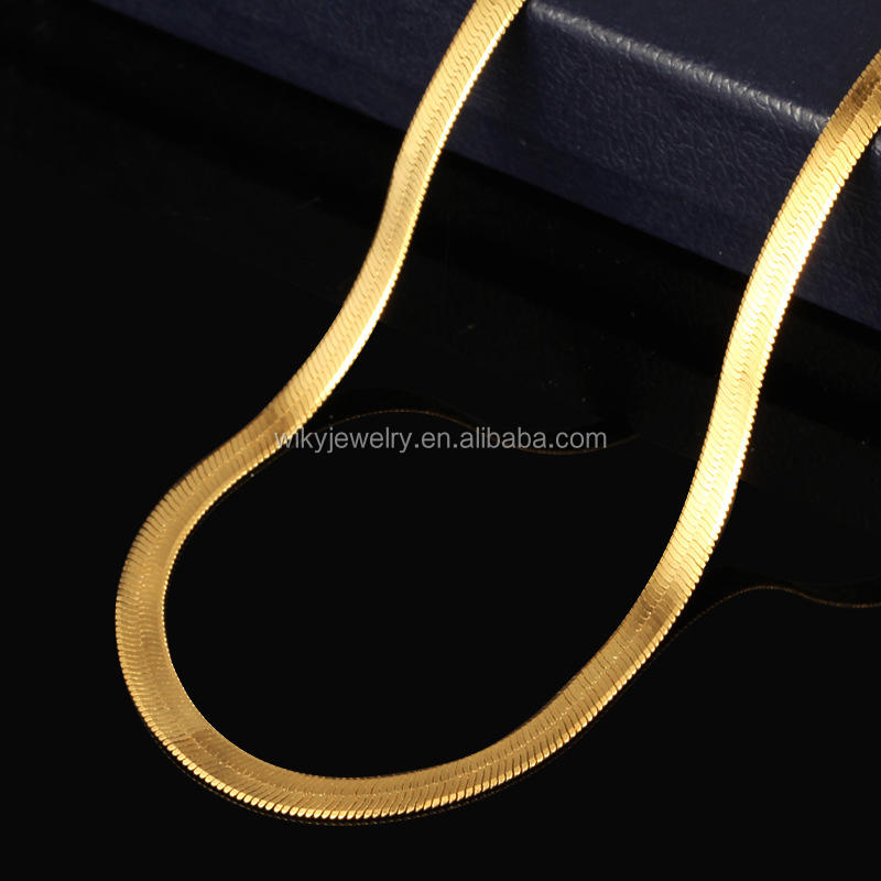 ATHENAA Factory Wholesale The snake bronze necklace Snakelike Necklace Jewelry Arab Style 18k Gold Plated Jewelry