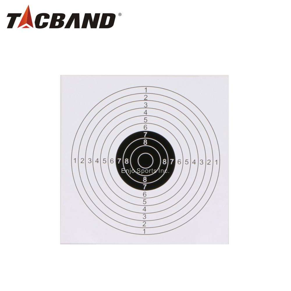 Printed Bullseye Paper Targets for Airsoft Shooting 17X17cm