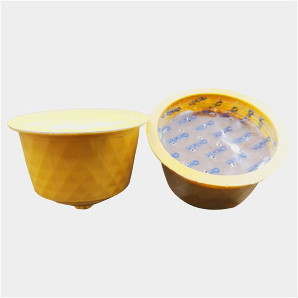 Compatible disposable empty coffee capsule dolcegusto capsule