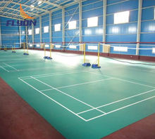 Polyurethane Basketball Court badminton court mat PU