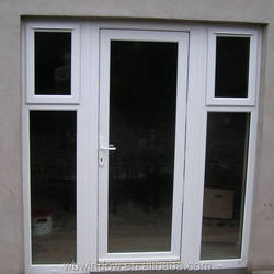 Chinese PVC profiles for UPVC swing doors with cheap price