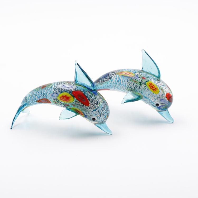 Fisch Glas Wasser Glasfisch Aquarium Kerze Deko Delfin Kunsthandwerk Handarbeit Nozztra Com