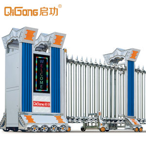 Stainless steel 전기 개폐식 보안 gates main gate design 홈