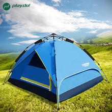 Easy 2 Room Waterproof Customized Family Outdoor Tent