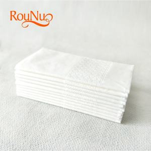 white printed small size pocket tissue paper for travel