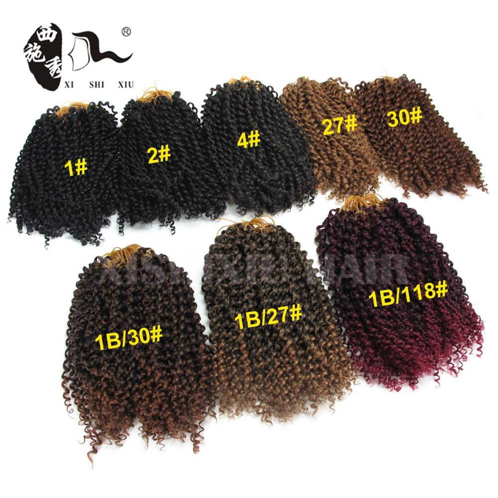Online shopping cheap high quality synthetic afro kinky curly braiding hair weave