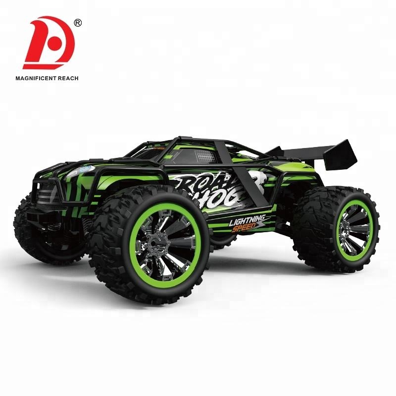 HUADA 2021 1/18 Scale Max Racing High Speed Electric Rc 4WD Remote Control Truck Car Toy with Battery
