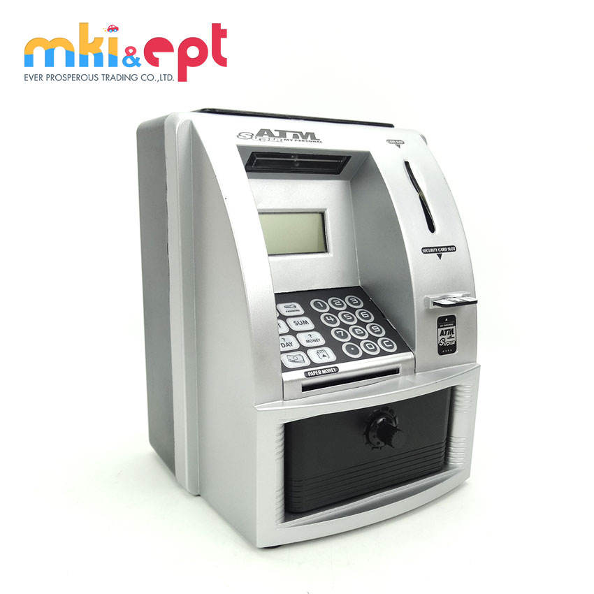 High simulation atm machine toy atm bank toy for children