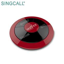 SINGCALL Restaurant Cafe Wireless Waiter Calling System Button