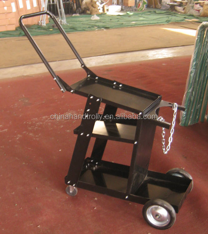 Service trolley truck tool cart metal plant welding cart