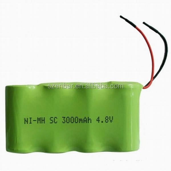 RC car pin 4.8 V SC 3000 mAh NiMH pin sạc