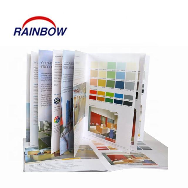 Brochure printing for color chart