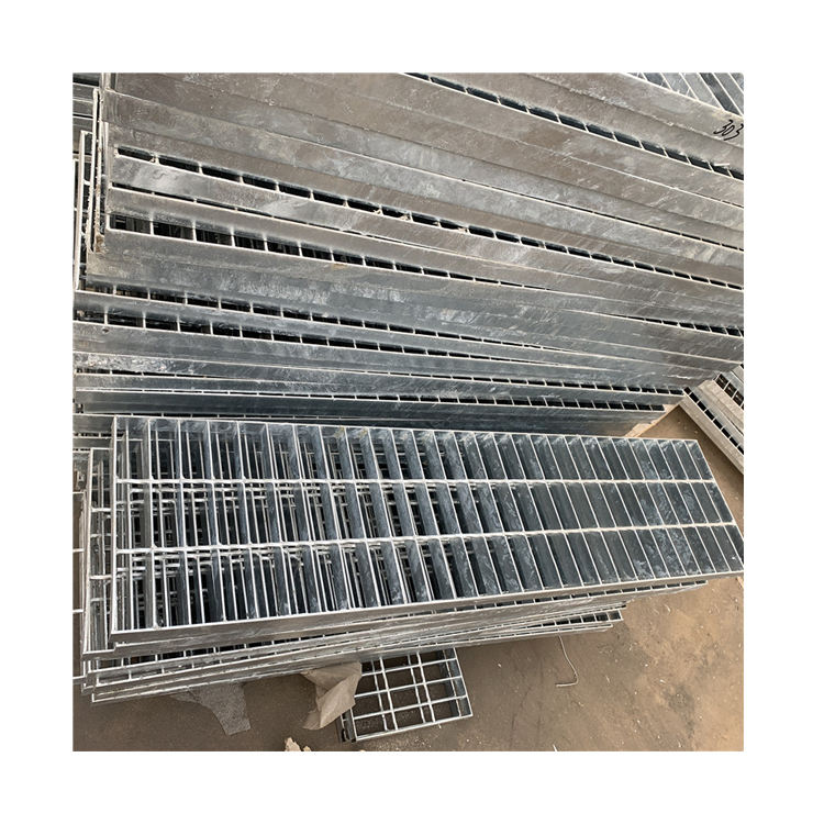 Hot-Dip Galvanis Parut Heavy Duty Steel Grating Harga