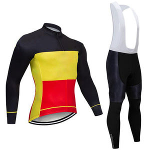 Cycling Jersey long Sleeve Bike Clothing Bicycle Shirts Padded long Set