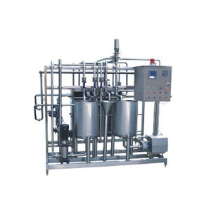 Pasteurizing machine for milk and juice