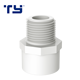 Connection Adapter Male Pvc Pipe Adapter Plastic Water Connection Rubber Joint PVC Male Thread Adapter Pipe Fittings Male Adapter