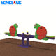 children playground seesaw for two kids yonglang toy