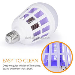 Hot selling LED UV Light E27 15W  Bulb flying insect mosquito killer Trap Lamp for Indoor Outdoor