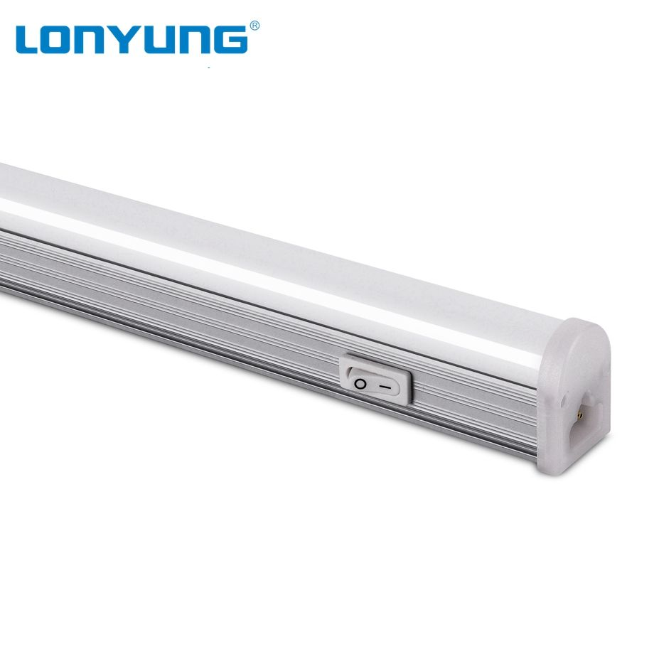TUV approved led t5 single fixture replace T5 T8 fluorescent light for bed head dimmable batten wall lamp dc 12 volt tube light