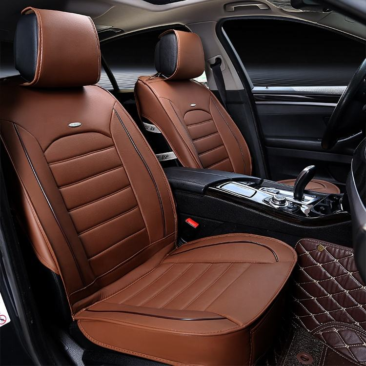 Wholesale 4 colors luxury suv seat covers 1 moq