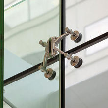 beautiful store curtain wall glass spider ,glass spider hardware