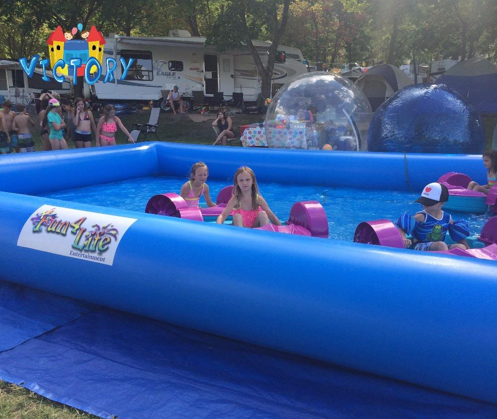 2018 Hot sale Inflatable swimming pool giant inflatable pools for kids or adults