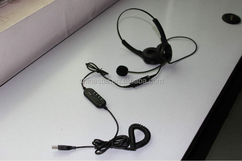 VOIP USB headset with MIC microphone cheapest price