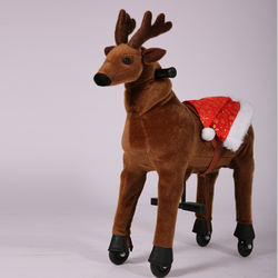 Mechanical Walking Reindeer, Mechanical Horse Toys for Kids