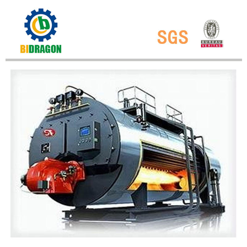 Natural Gas Steam Boiler to Generate Steam Used in Industry