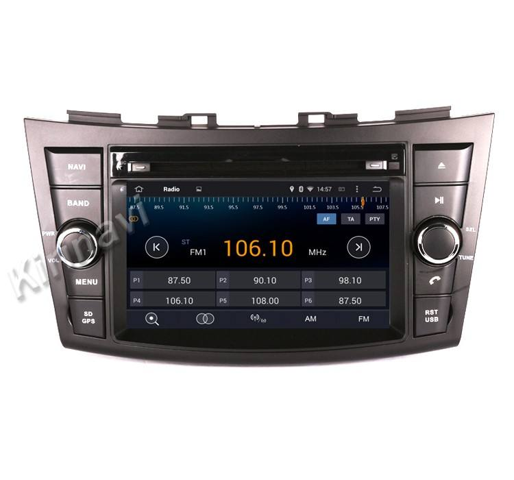 Kirinavi WC-SS7669 android 10.0 auto radio <span class=keywords><strong>dvd</strong></span> für suzuki swift 2012- 2016 navigation system wifi 3g plays