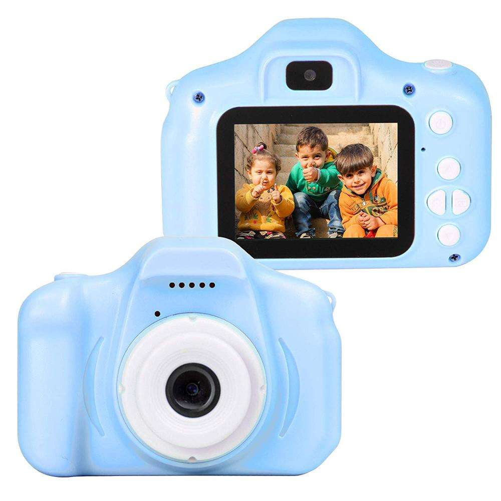 2.0 Inch IPS Screen Shockproof Child Digital Selfie HD Camera Camcorder 12MP Mini Kids Camera 720P