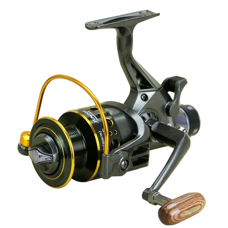 Peche Metal Saltwater Fishing Reel 5000 Fishing Tackle For Carp Double Loading Spinning Fishing Reels