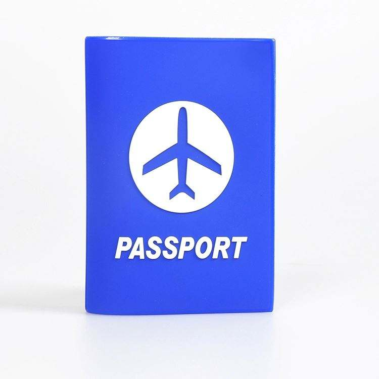 Promotion Soft PVC Passport Holder/실리콘 passport case/고무 Passport Cover