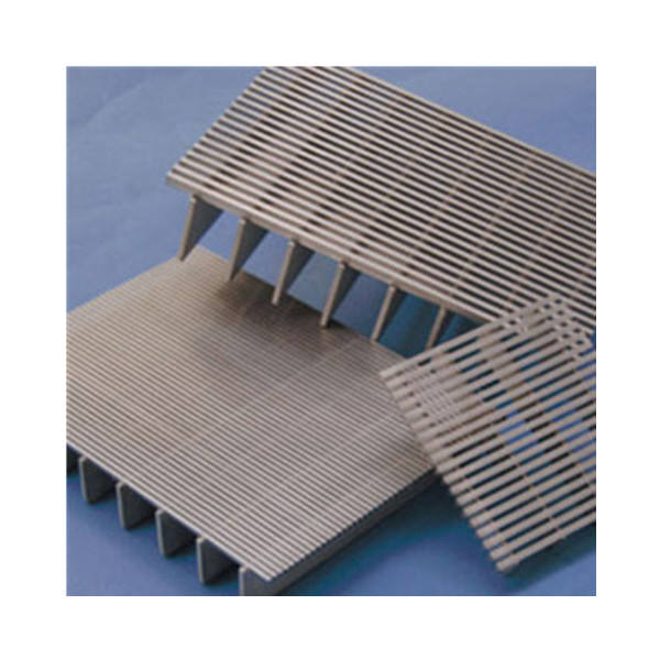 Slotted wedge screen 2205 stainless steel mesh with supporting wire