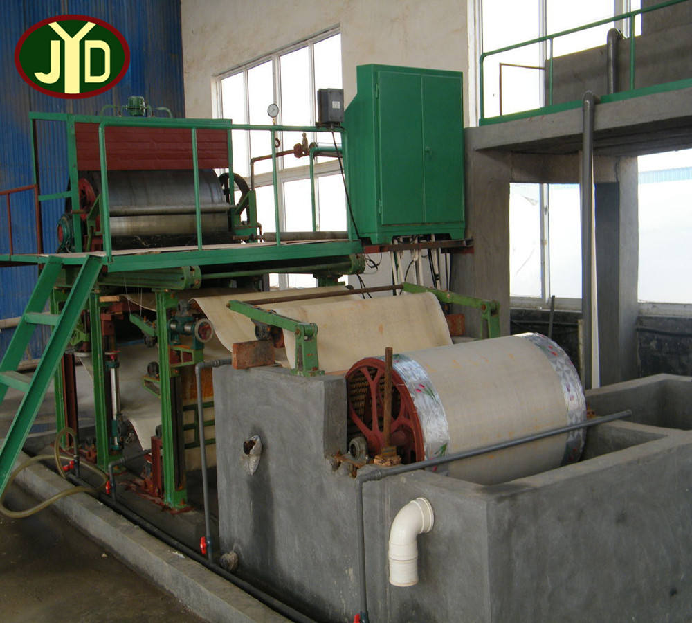 Factory direct sale sugarcane bagasse pulp 600mm facial/napkin/toilet/tissue paper making machine