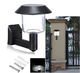 wall mounted sensor china factory solar home security lamp