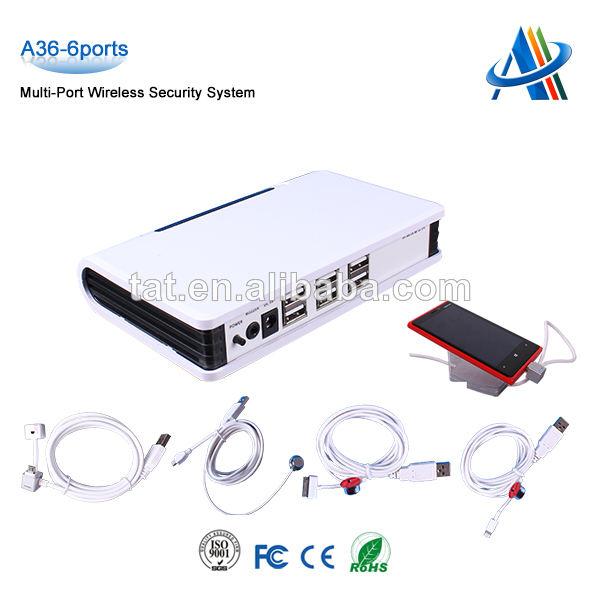 Con regulador la <span class=keywords><strong>alarma</strong></span> de seguridad Wireless clave de apoyo 6 dispositivos multi puerto