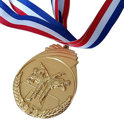 promotional custom factory swimming taekwondo carnival gold medal