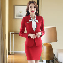 autumn skirt suits elegant women business suit formal office female work wear