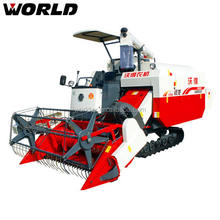 4LZ-4.0E 88HP mini reaper for rice corn wheat combine harvester